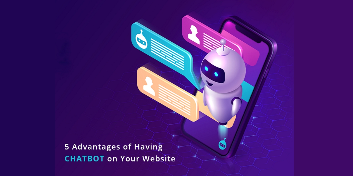 advantages of having chatbot on your website